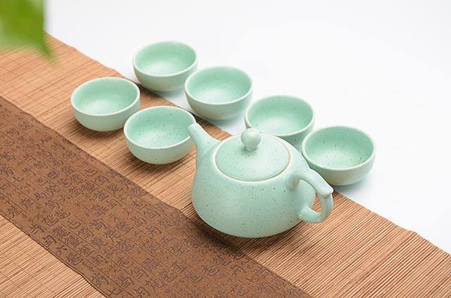 Beautiful Ceramic Gong Fu Teaset