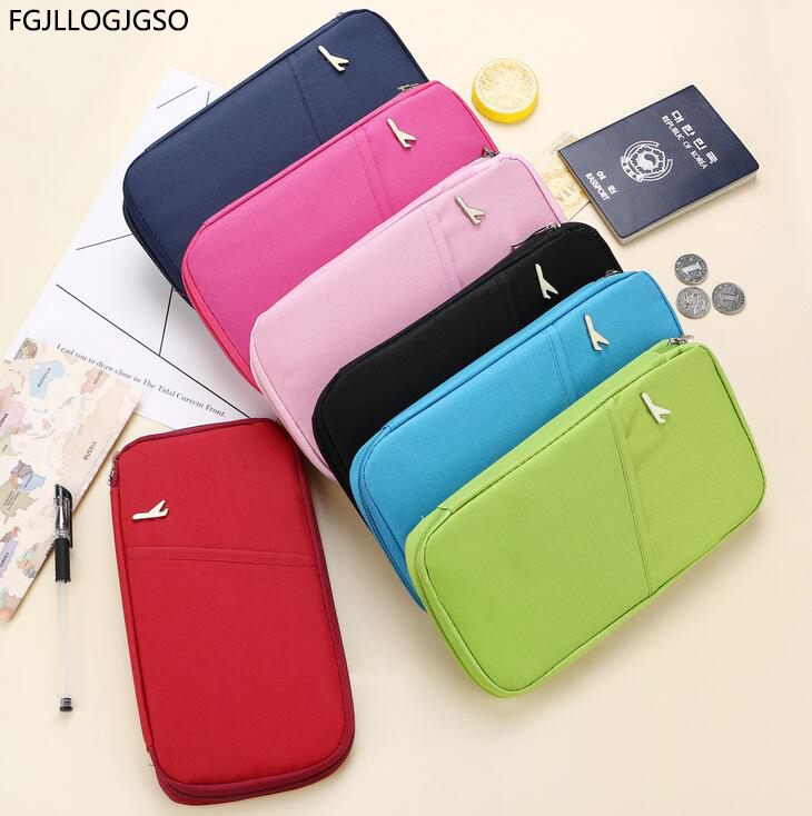 New Travel Passport Cover Wallet Travelus Multifunction Credit Card Package ID Holder Storage Organizer Clutch Money Bag Unisex neck hanging travel accessory passport cover wallet credit id card holder air tickets package case unisex storage organizer bag