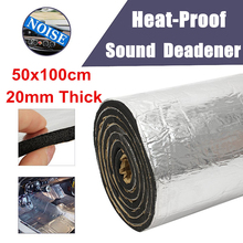 Car 100*50*2cm Insulate Foam Soundproof Water Fire Proof Mat Damping Pad