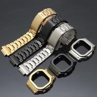 DW 5600 Strap Watch band bezel 5600 Metal GWM5610 GW5000 Stainless Steel Watchband Case Frame gshock Bracelet Repair Tools
