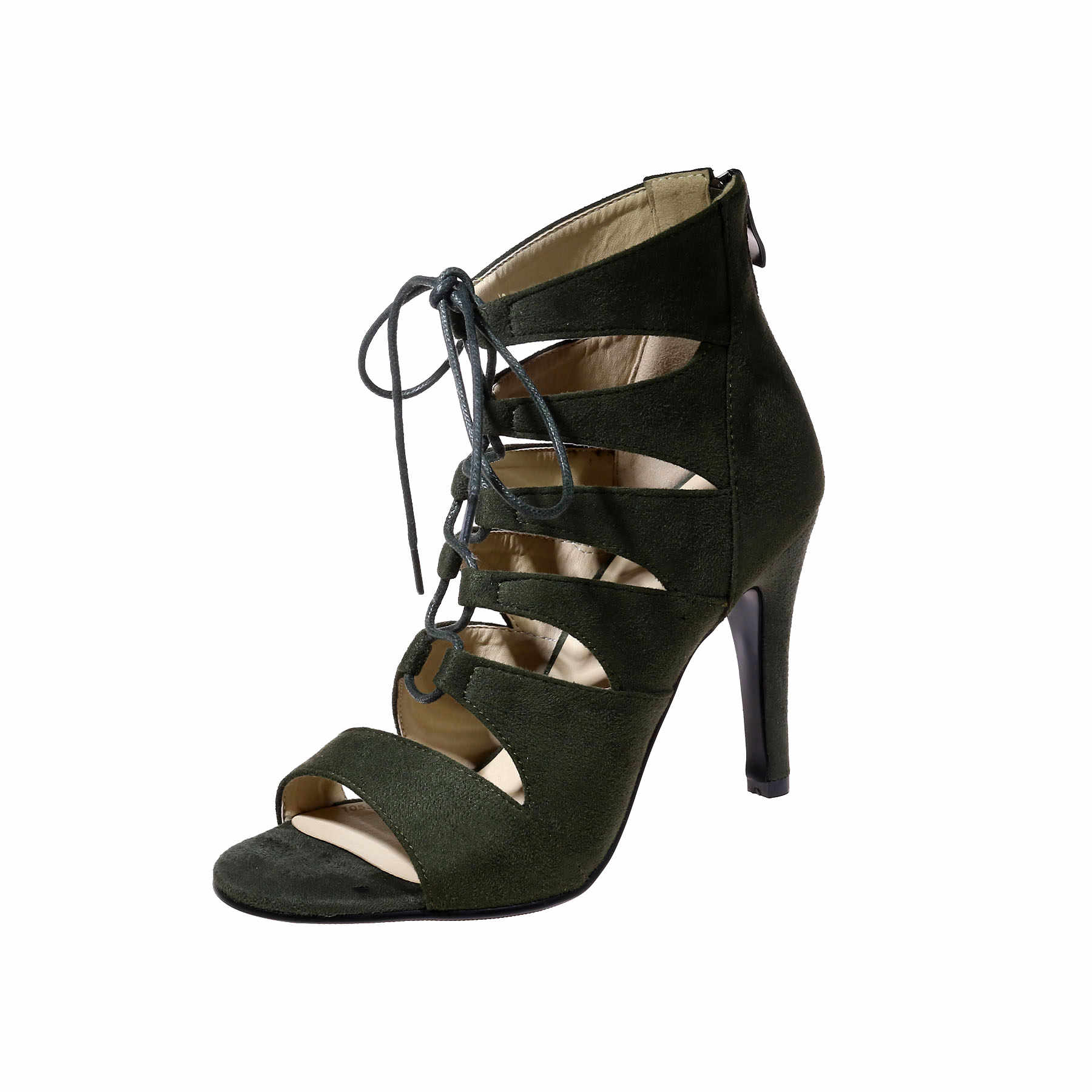 Nieuwe Vrouwen Laarzen 2018 Vrouw Zomer Laarzen open Teen dunne Hak Hak schoenen Breien Bootie Vrouwelijke dress schoenen vrouw