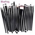 BLUEFRAG Professional Makeup Brush Set tools Make-up Toiletry Kit Brand Make Up Brush Set pincel maleta de maquiagem 6 color