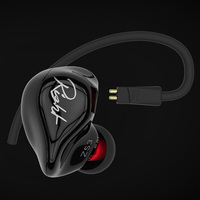 Original KZ ZS3 Ergonomic Detachable Cable Earphone In Ear Audio Monitors Noise Isolating HiFi Music Sports