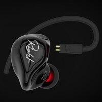 Original KZ ZS3 Ergonomic Detachable Cable Earphone In Ear Audio Monitors Noise Isolating HiFi Music Sports