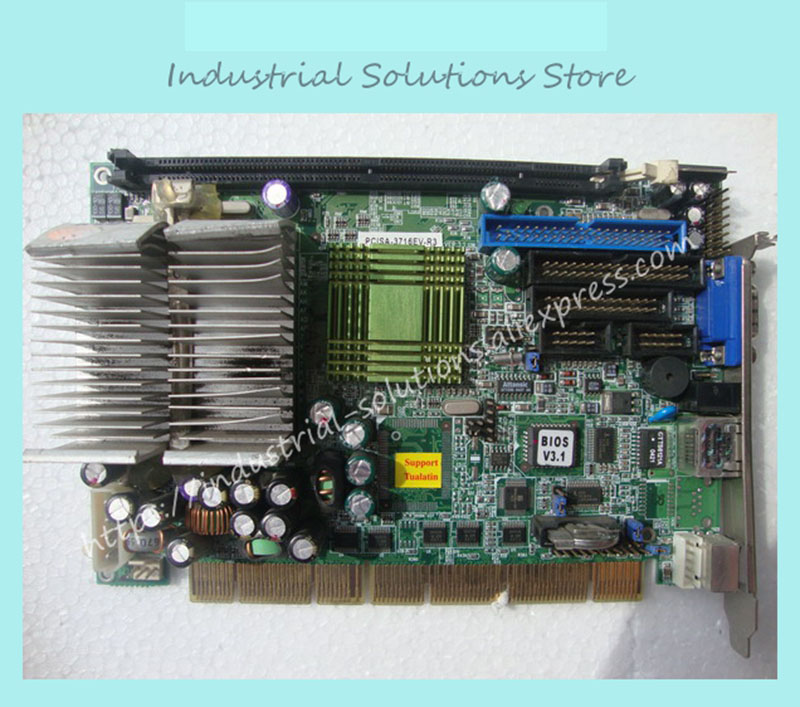 PCISA-3716EV-R4 Long Motherboard Industrial Board 100% tested perfect quality industrial floor picmg1 0 13 slot pca 6113p4r 0c2e 610 computer case 100% tested perfect quality
