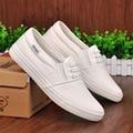 2017 la Primavera y el otoño de diseño Unisex de lona masculinos zapatos de moda casual zapatos de algodón hecho a pedal zapatos de los amantes de los hombres zapatos perezosos