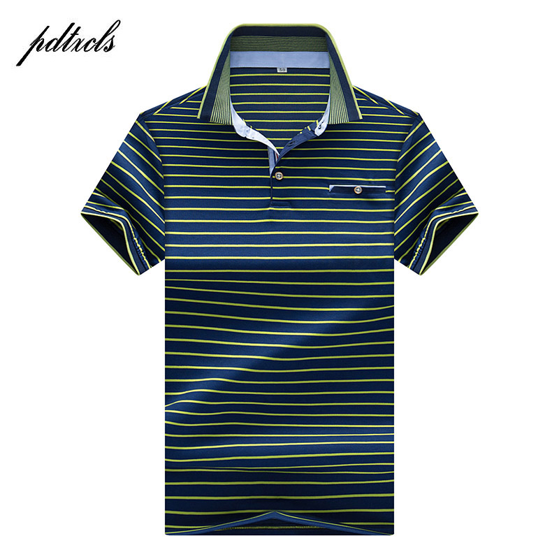 HOT High Quality Tops&Tees Men's   Polo   shirts Business men brands   Polo   Shirts 3D embroidery Turn-down collar mens   polo   shirt 8209