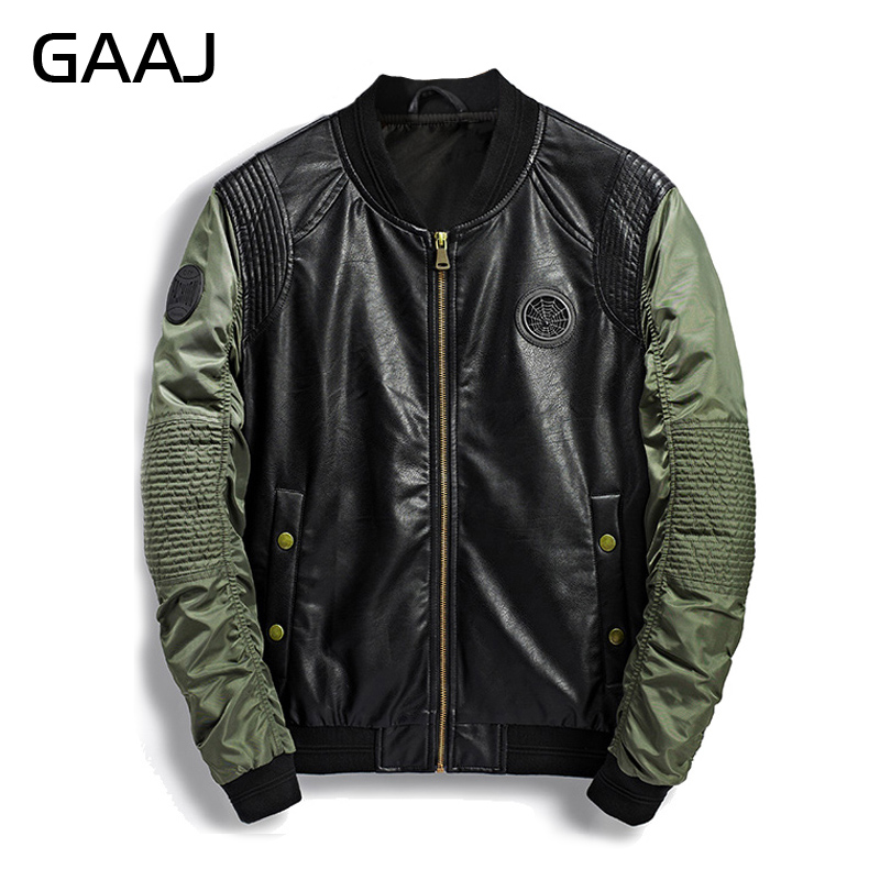 2019 Autumn Winter Military Bomber Jacket Men Camo Streetwear Leather Denim Camouflage Army Biker Jackets Pilot For Men's Coat