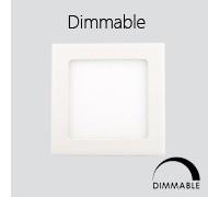 ультратонкий дизайн 12 Вт из светодиодов потолок встраиваемые даунлайты / круг панель лёгкие, 155 мм разрез, 10 пк / много