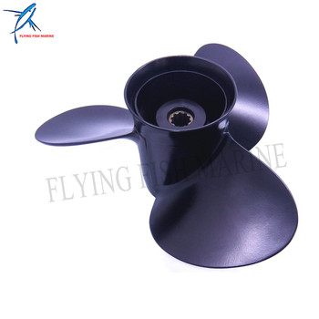 Marine Propeller 5032107 10 1/4x10-K for Evinrude Johnson 25-30hp Boat Engine Parts 10.25x10 Aluminum Outboard boat engine