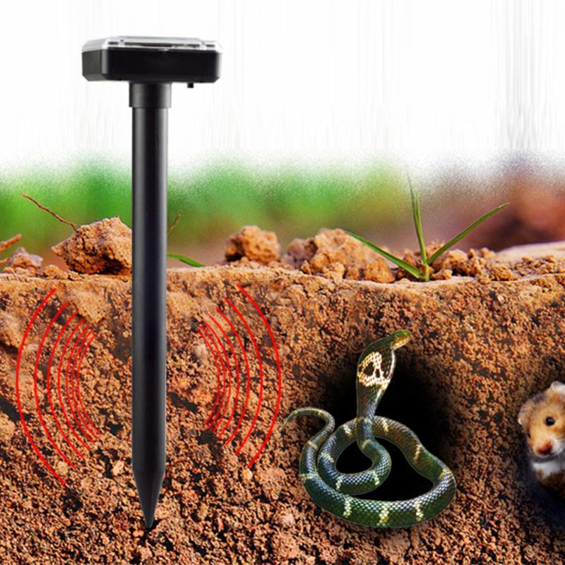 Solar Ultrasonic Pest Repeller - Mole/Snake/Bird/Mosquito/Mouse 2