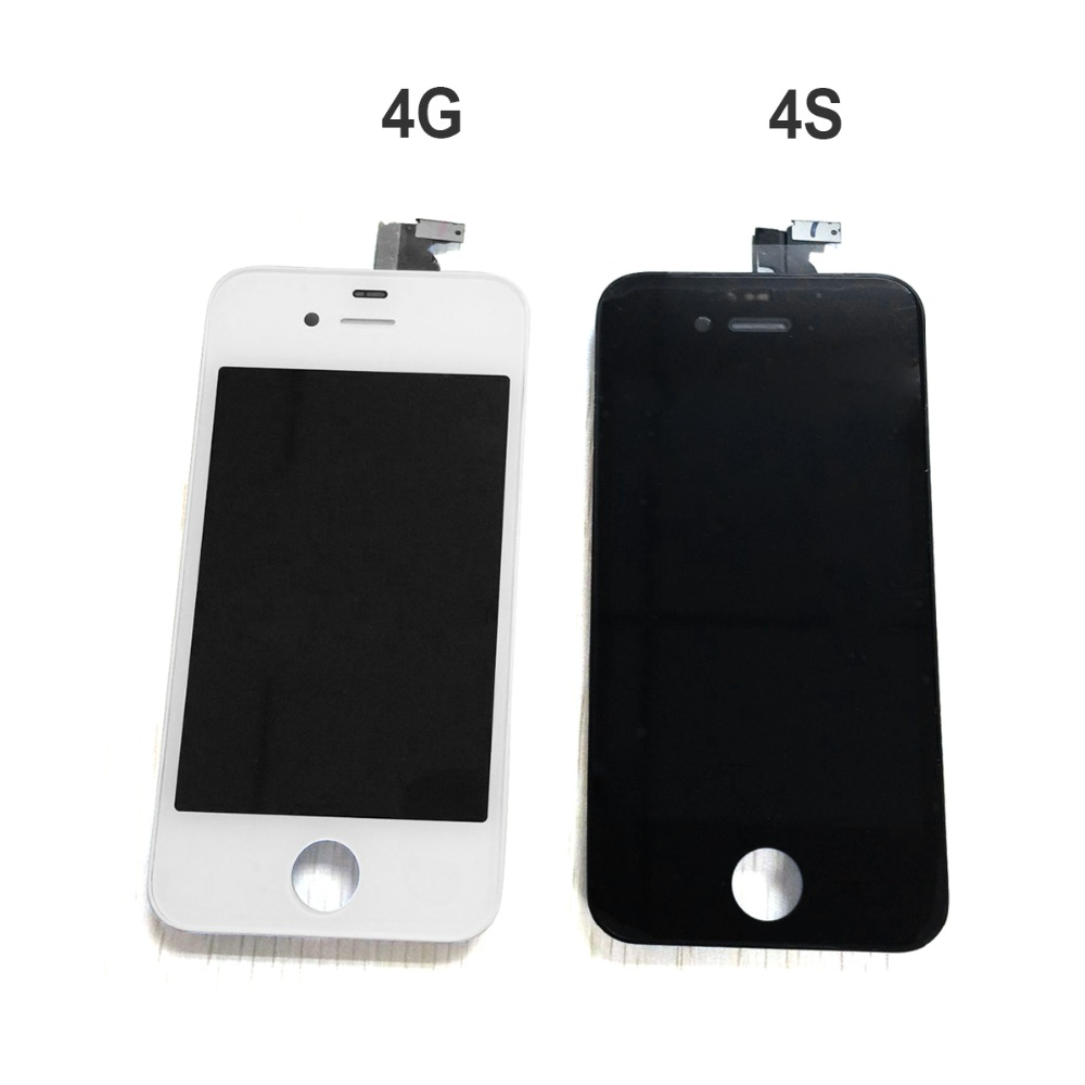 811d8e93492 White/Black 100% Guarantee A+++ Display for Iphone 4 4s LCD Touch Screen  Digitizer Assembly+Tools+With Original Digitizer Glass-in Mobile Phone LCDs  from ...