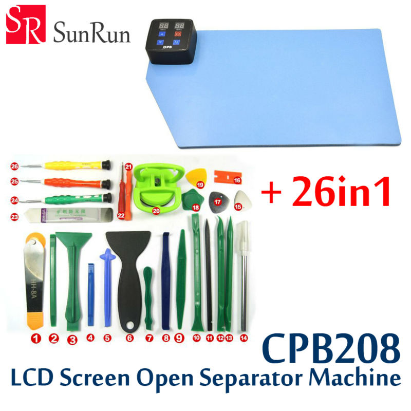 26-in-1 Version of CPB LCD Screen Open Separate Machine Repair Tool Separator for Iphone Samsung Mobile Phone Ipad Tablet