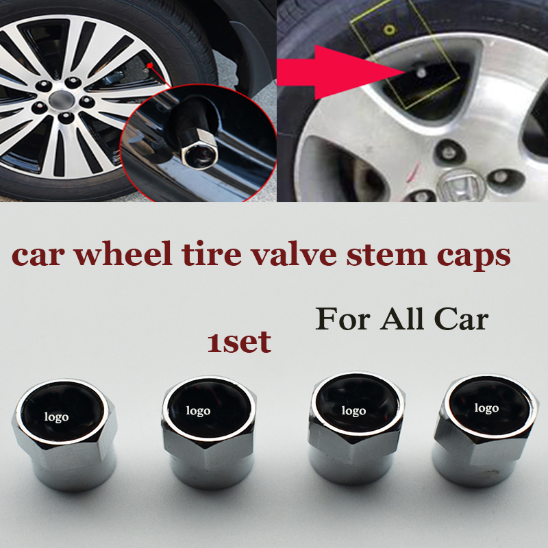 6corners car wheel valve stem cap For bmw Audi benz vw kia prosche peuget Ford jeep Benz ...1set auto wheel tire valve covers цена