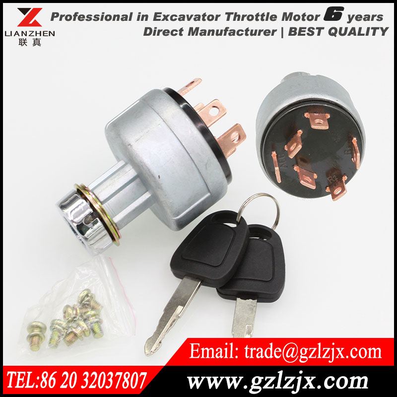 ФОТО Starting switch fire up switch for Hitachi excavator EX200-1 engine spare parts