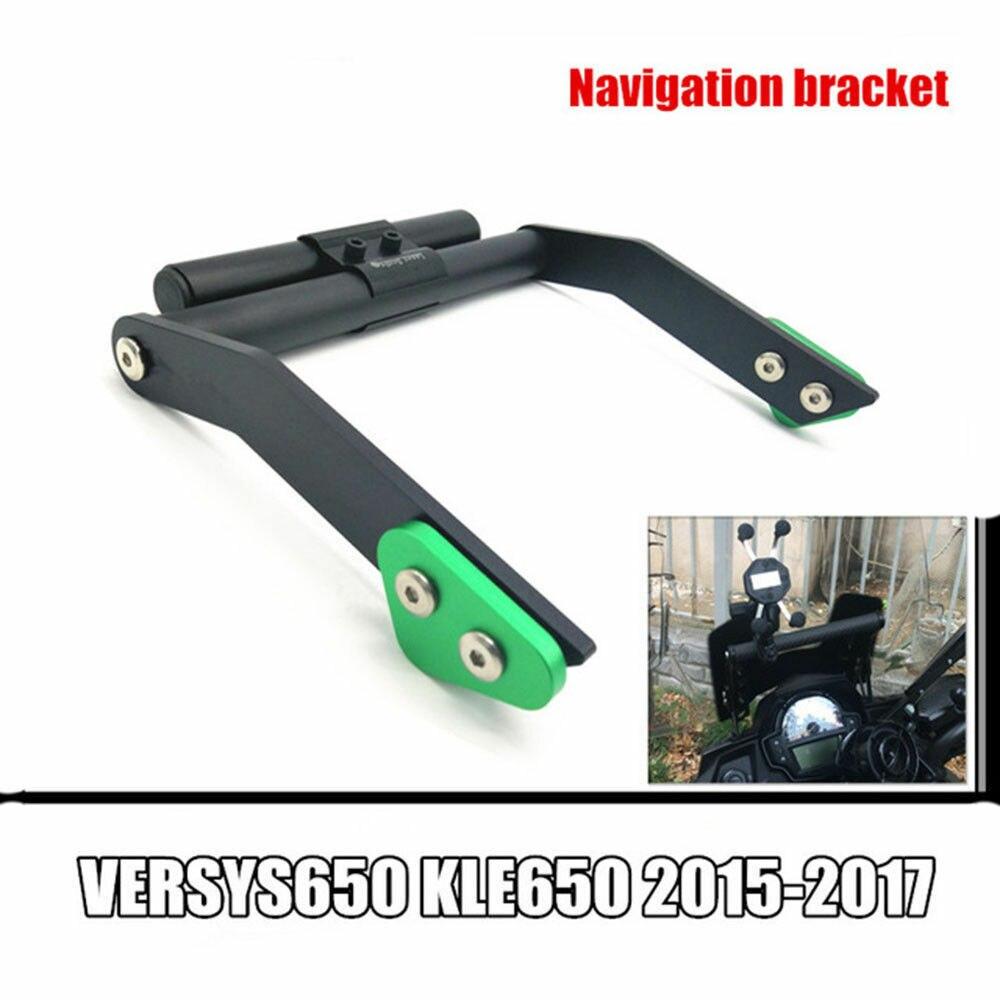 オートバイ修正された GPS ナビゲーションブラケット川崎 VERSYS 650 KLE 650 VERSYS650 KLE650 2015 2019 モトアクセサリー  グループ上の 自動車 &バイク からの カバー & オーナメント作り の中 1
