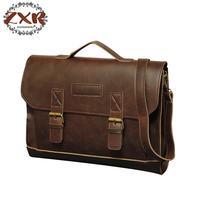 PU Leather Briefcase Laptop Bag Men Business Shoulder Messenger Bags Computer Laptop Briefcases Men's Bags