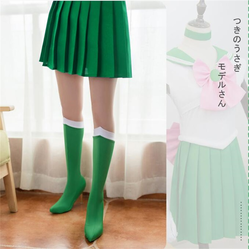Anime Sailor Moon Tsukino Usagi Cosplay Socks Stockings Costume Boots Shoes Case Cover