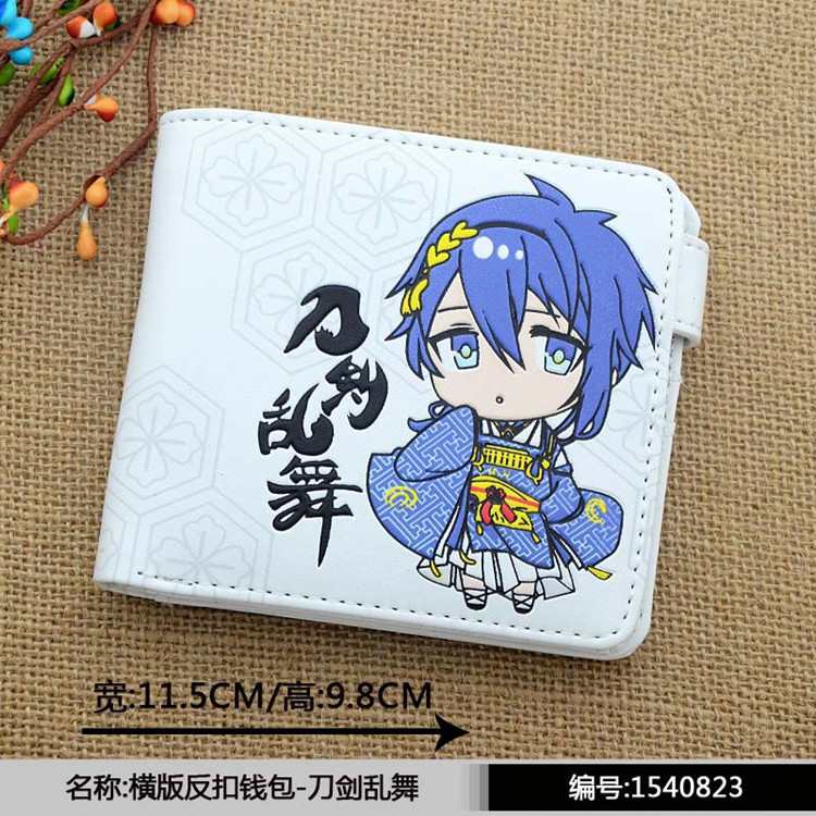 Touken Ranbu Japanese online game wallet Mikazuki Munechika kawaii lovely girl's wallet P062 image