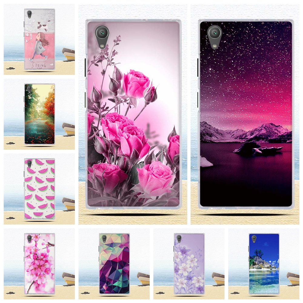 Cover For Sony Xperia XA1 Plus Case Back Soft TPU Phone Case For Sony Xperia XA1 Plus Bag Silicon Funda For Sony Xperia XA1 Plus