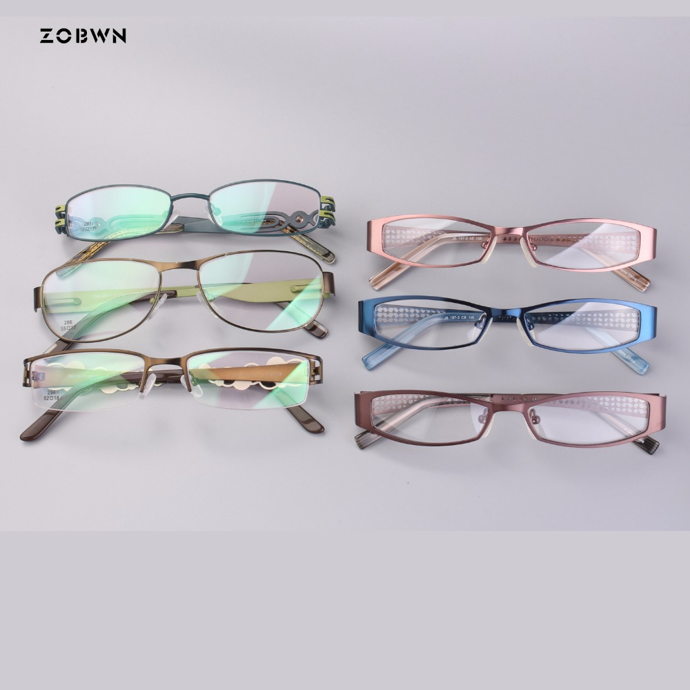 wholesale small size metal eyeglasses women Optical Frames glasses Frame Shield Glasses for Fashion reading glasses Frame Myopia in Women 39 s Eyewear Frames from Apparel Accessories
