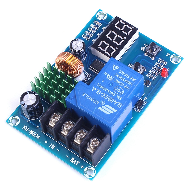 HHO DC 6V-60V Programmable Digital Battery Charge Controller Protection Switch for Lead Acid Lithium Solar Panel Battery hho battery charging control board charging protection board charge controller protection switch for dc12 24v lead acid batter