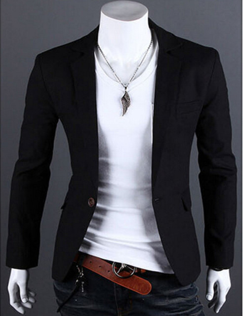 blazer men New Fashion Stylish Men's Suit, Men's Blazer, Business Suit, Formal Suit,6 colors Size: M-L-XL-XXL XXXL Free Shipping