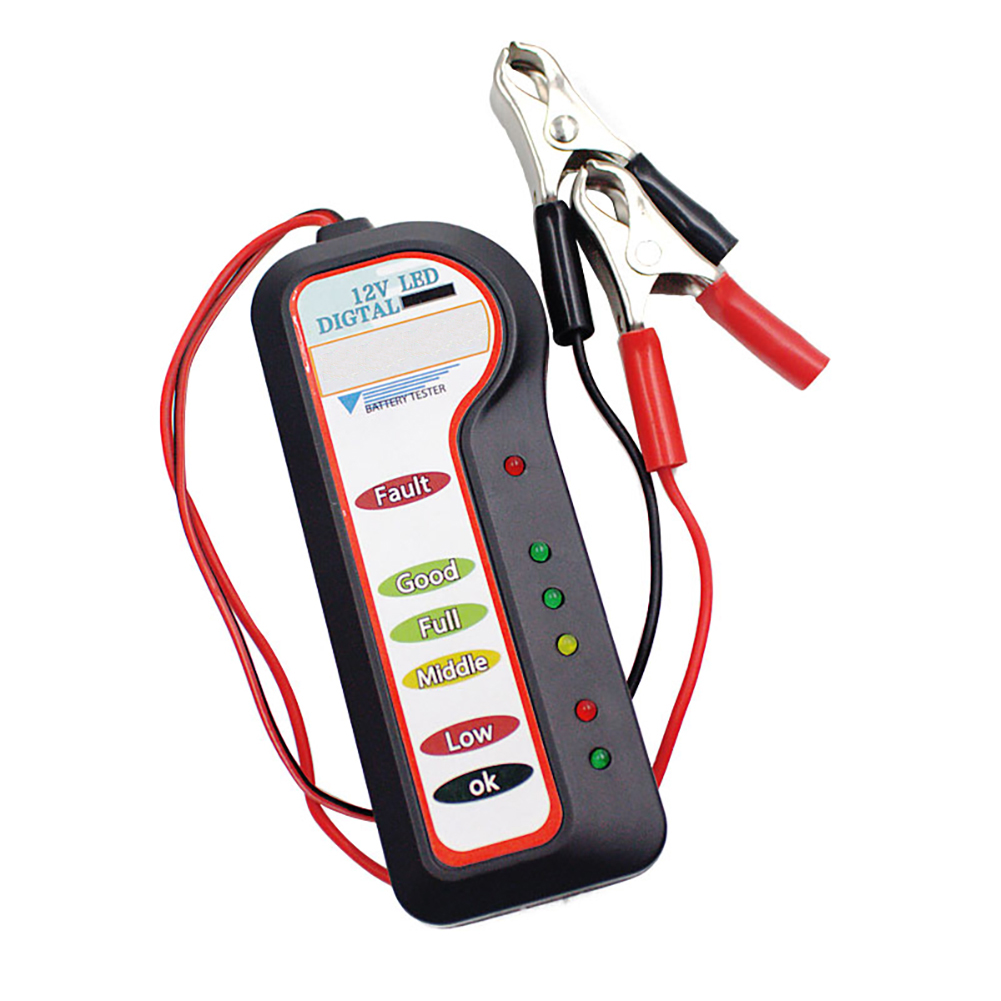 Image 2 - 12V Car Battery Tester Diagnostic Tool Alternator Voltage Automobile Vehicle Battery Scanner-in Battery Measurement Units from Automobiles & Motorcycles