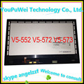 15.6'' replacement assembly for Acer V5-552 V5-572 V5-573 notebook Laptop LCD Screen touch screen with digitizer B156XTN03.1