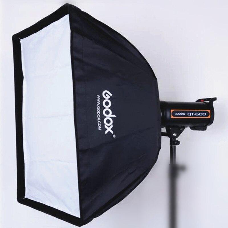 Godox 60x90cm Photo studio photography Rectangular Umbrella Softbox with Bowens caliber for Speedlite Photo Strobe Studio