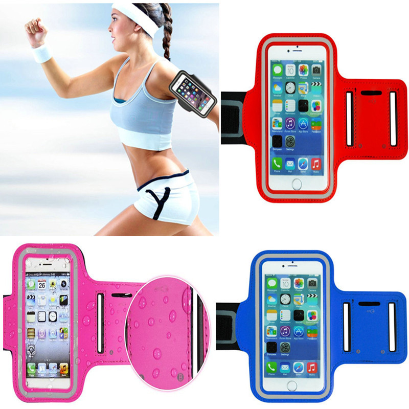 WaterProof Sport Gym Running Armband Protector Soft Pouch Case Cover Iphone6 4.7' Samsung S6 Note 3 4 - jay ghlloy's store