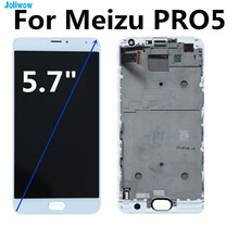 For Meizu Pro 5 Pro5 LCD Screen Display+Touch Panel Digitizer With Frame For Meizu Pro 5 Lcd Display  Accessories Replacement lcd screen display touch panel digitizer with frame for 5 5 meizu mx5 mx 5 white or black free shipping
