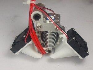 Image 2 - Ultimaker Original V6 hot end mount full assembly kit for DIY 3D printer J head metal mount holder 3950 thermistor
