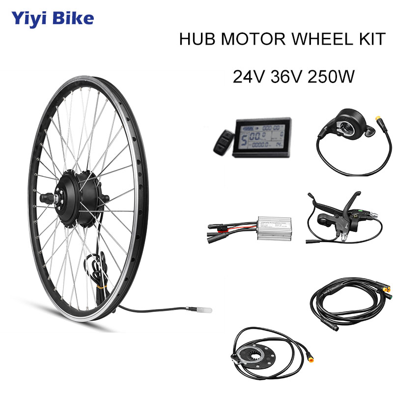Aliexpress.com : Buy 24V 36V 250W 26inch Front Motor Wheel