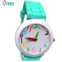 Hot Selling Fashion Quartz Unisex Boys and Girls Watches Beautiful Students All Match Watch Creative