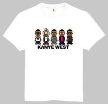 Kanye West T Shirt Summer Short Sleeve Teenages White Color Kanye West Logo Top Tees T-Shirt For Men Women