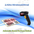 Eyoyo 8150AT Auto Sense(No Press Button) 2.4G High Speed Wireless Laser USB Barcode Scanner Scan Label Reader Up to 10M Range
