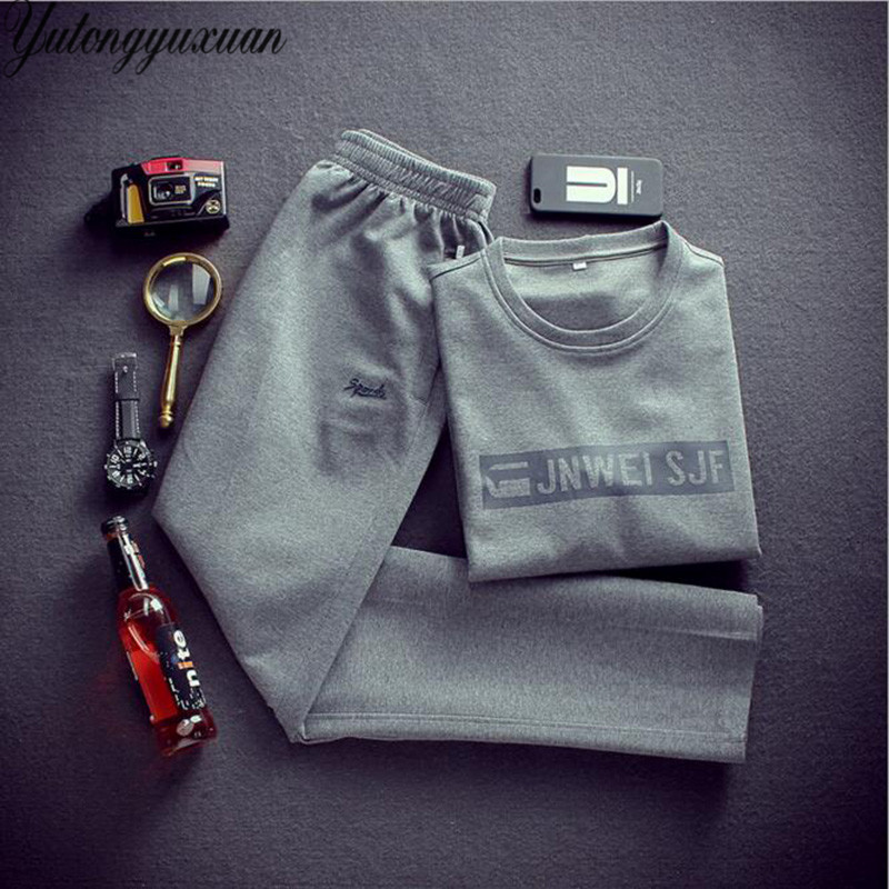 2017 Sale Full New Autumn Long Sleeve Hoodies Pullover And Pants 2 Piece Set Casual Tracksuits