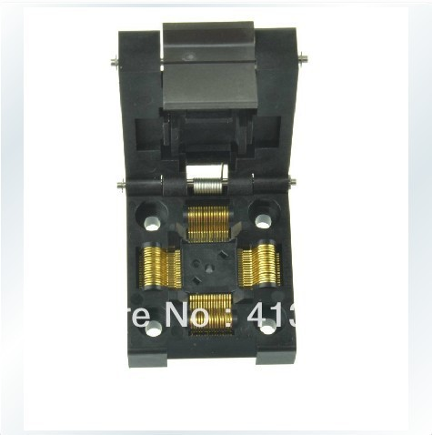 Import block LQFP64 adapter TQFP64 burn IC, IC51-0644-807 test original plcc44 to dip40 block adapter block cnv plcc mpu51 test convert burn