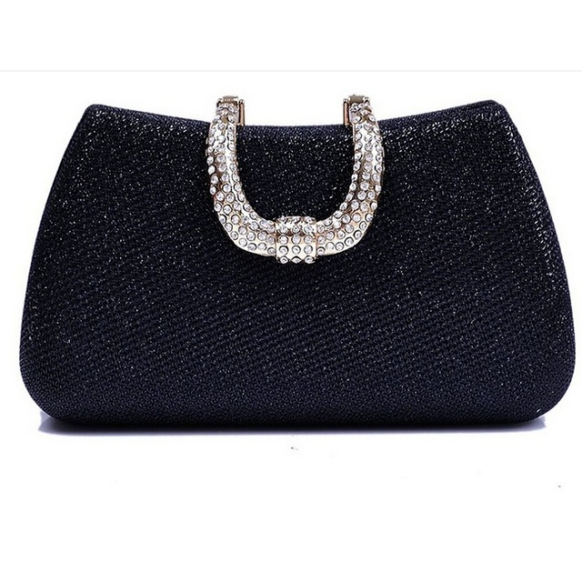 2017 New Design Evening bags Party Bags Wedding Handbag Diamond Clutch Messenger Purse Chain Shoulder Bag Bolsa Feminina Purse