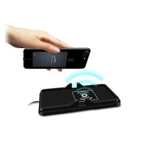Image 2 - 10W 범용 자동차 충전기 Qi 무선 충전기 충전 도크 패드 빠른 충전기 대시 보드 홀더 iphone XR