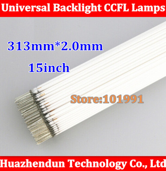 100PCS Super light NEW 313mm*1.8mm LCD CCFL lamp for 15' 15 inch screen CCFL backlight tube 312mm
