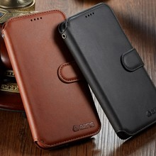 Luxury Leather Wallet Case For Samsung Galaxy A8 plus 2018 With Card Holder Flip Plus Shockproof