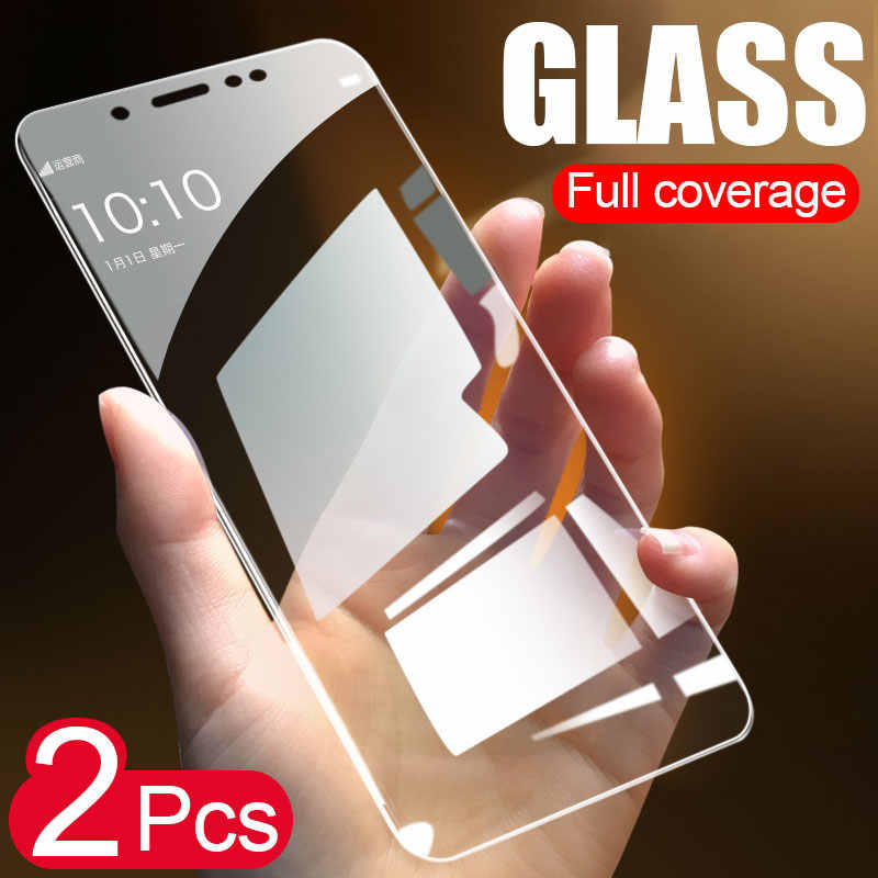 2PCS Full Cover Screen Protector Tempered Glass For Xiaomi Redmi Note 7 6 5 Protective Glass For Redmi 6 Pro 5A 6A 5 Plus Film