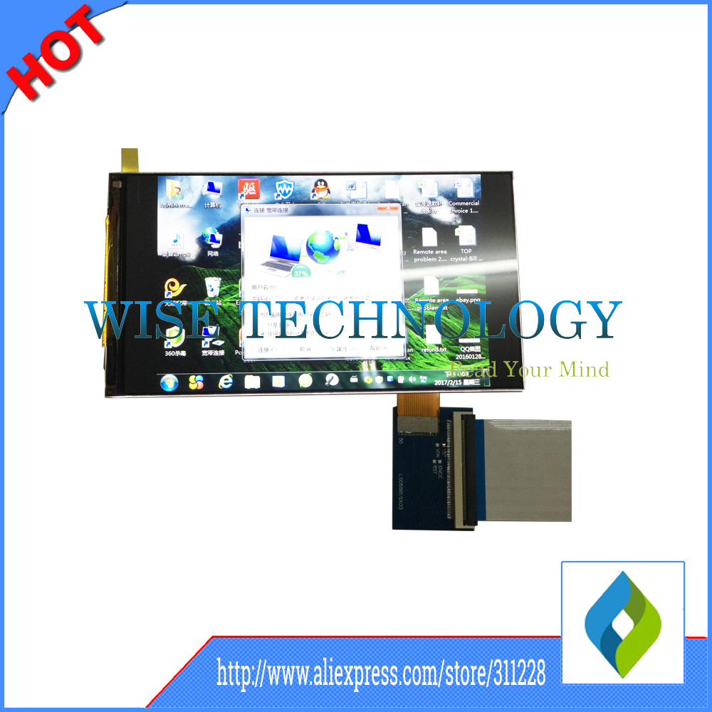 5.5 Inch 1440P Lcd Panel 2560x1440 Lcd Mipi/ 2K LCD With HDMi Board For Virtual Reality Hmd 5sets Free DHL
