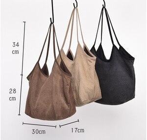 Image 5 - Sac à main en tissu Chic français pour femmes, sacoche à poignée supérieure 2020, fourre tout de grande capacité pour couches, sacoche quotidienne pour shopping, collection décontracté