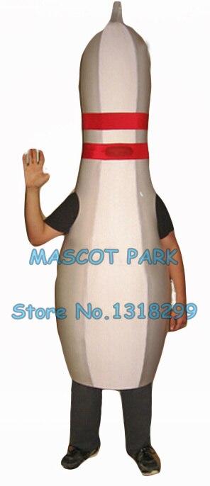 Costume de mascotte de quilles en gros pour vente pas cher taille adulte dessin animé sport quilles thème anime cosply 2803