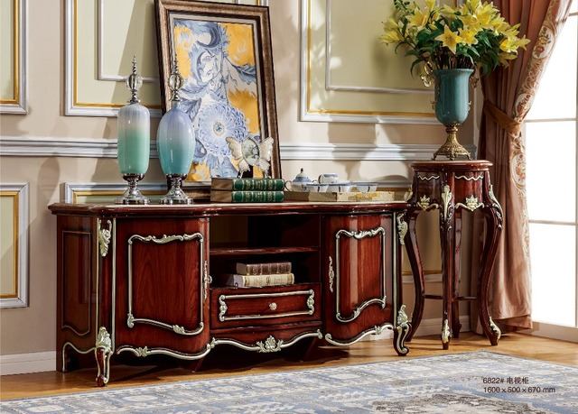 Luxury Tv Cabinet Stand For Living Room From Foshan Furniture
