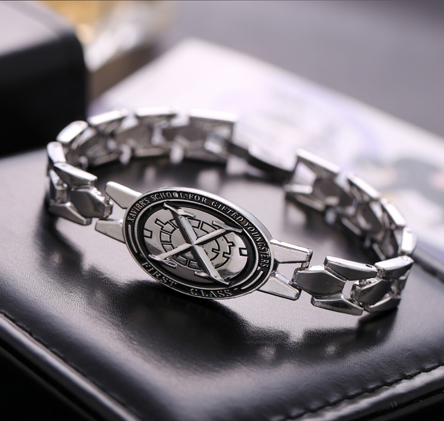 X men Super Hero Zinc Alloy Bracelets & Bangle for Women & Men