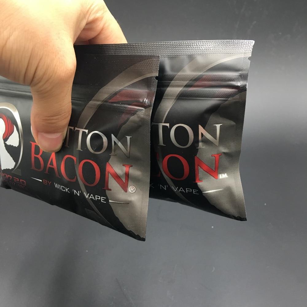 Cotton Bacon Wick N Vape Authentic 100 Kapas Organic Untuk Rda V2 By Coton Best Seller Original V30 For Electronic Cigarette Rba Atomizer